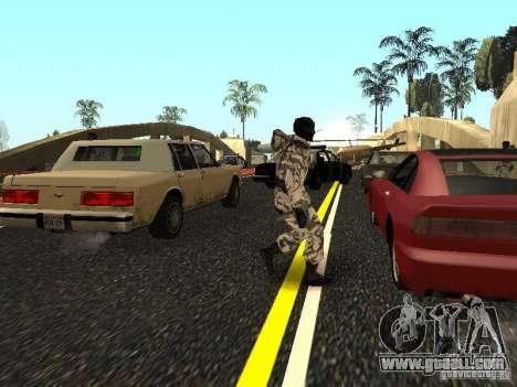 Arctic Avenger for GTA San Andreas forth screenshot