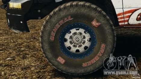 Dodge Power Wagon for GTA 4 inner view