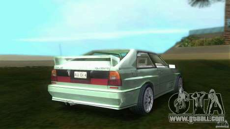 Audi Quattro for GTA Vice City back left view
