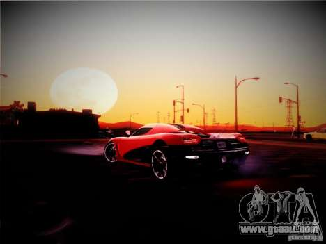 Realistic Graphics 2012 for GTA San Andreas second screenshot