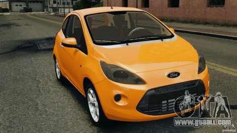 Ford Ka 2011 for GTA 4