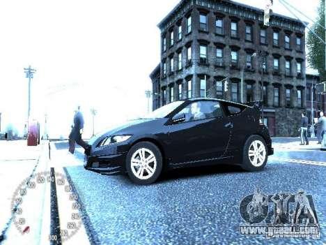 Honda Mugen CR-Z for GTA 4 right view
