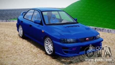 Subaru Impreza WRX STI 1999 v1.0 for GTA 4