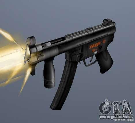 H&K MP5K for GTA San Andreas
