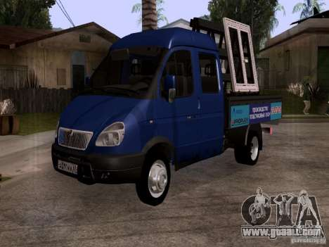 Gazelle 33023 for GTA San Andreas