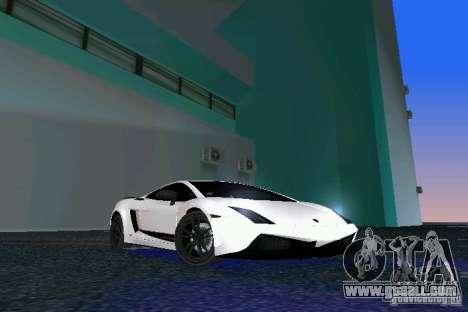 Lamborghini Gallardo LP570 SuperLeggera for GTA Vice City
