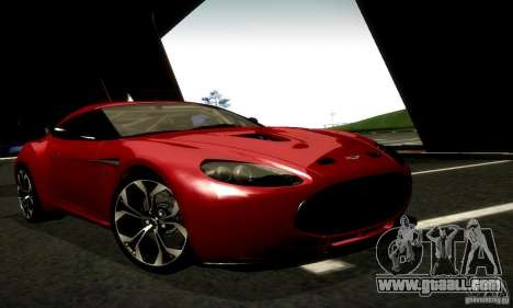 Aston Martin V12 Zagato Final for GTA San Andreas