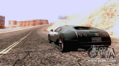 Bugatti ExtremeVeyron for GTA San Andreas right view