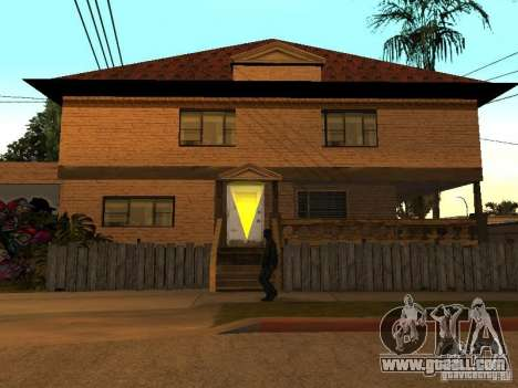 New home Cj for GTA San Andreas