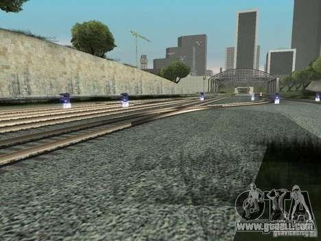Railway traffic lights for GTA San Andreas forth screenshot
