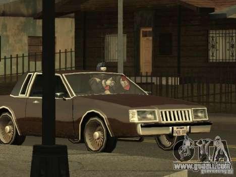 The Akatsuki gang for GTA San Andreas fifth screenshot