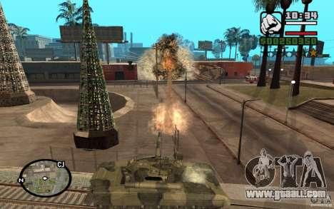 Hydra, Panzer mod for GTA San Andreas third screenshot