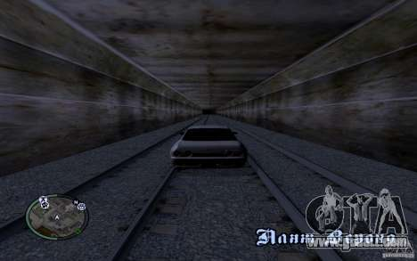 Russian Rails for GTA San Andreas fifth screenshot