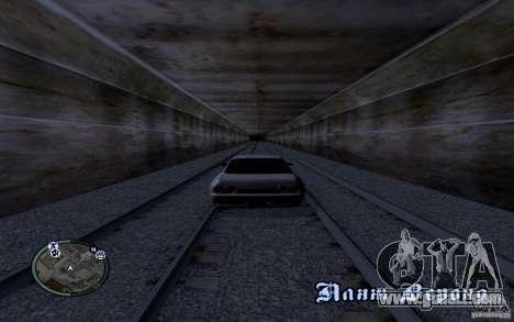 Russian Rails for GTA San Andreas