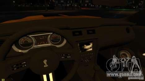 Ford Shelby Mustang GT500 2011 v2.0 for GTA 4