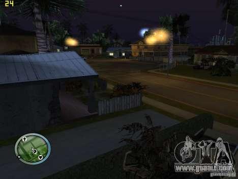 Broken cars on Grove Street for GTA San Andreas second screenshot