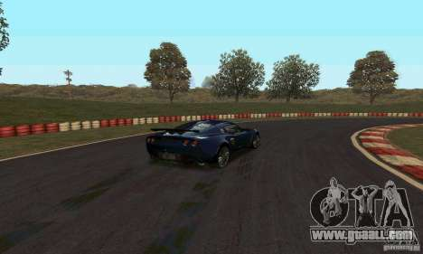 GOKART track Route 2 for GTA San Andreas second screenshot