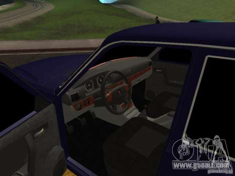 GAZ Volga 31105 restyling for GTA San Andreas back view
