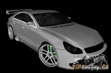 Mercedes-Benz CLS500 The GreenFairy TUNING for GTA San Andreas left view