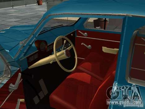 Moskvitch 423 for GTA San Andreas right view