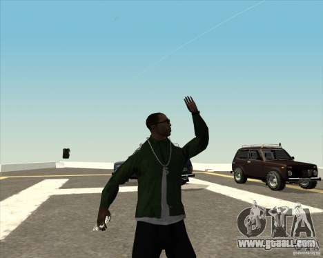 Different animation for GTA San Andreas sixth screenshot