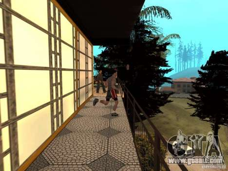 Reteksturirovannyj House CJeâ V1 for GTA San Andreas sixth screenshot