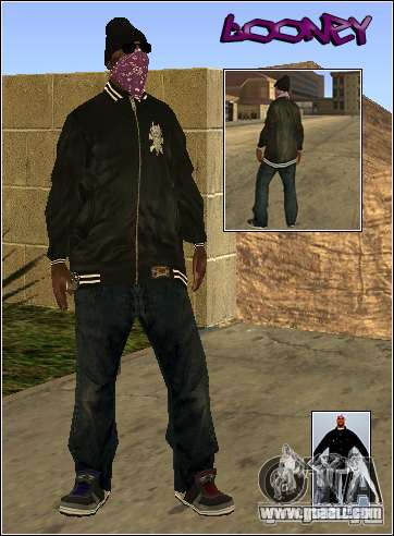 Skin Pack Getto for GTA San Andreas third screenshot