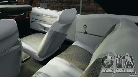 Chevrolet Camaro SS 350 1969 for GTA 4 inner view