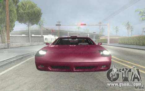 New Alpha for GTA San Andreas left view