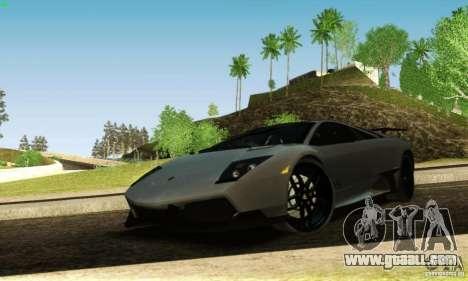 Lamborghini Murcielago LP 670-4 SV for GTA San Andreas side view