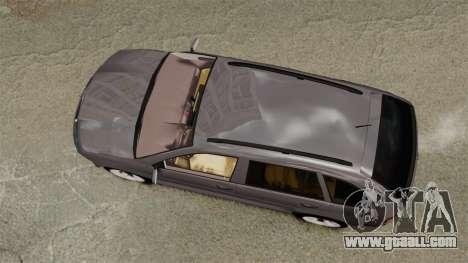 Skoda Fabia Combi for GTA 4 right view