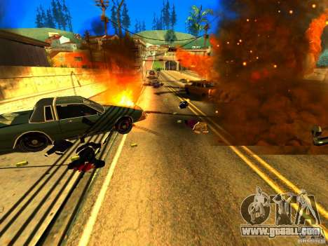 Real Kill for GTA San Andreas third screenshot