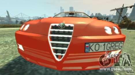 Alfa Romeo GTV Spider for GTA 4 side view