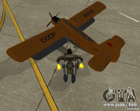 An-2V for GTA San Andreas left view