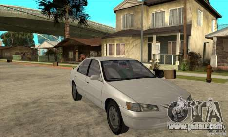 Toyota Camry 2.2 LE 1997 for GTA San Andreas back view