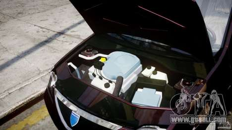 Dacia Logan 2007 Prestige 1.6 for GTA 4 inner view