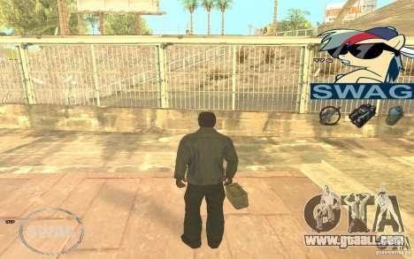 C-HUD Pony SWAG for GTA San Andreas third screenshot