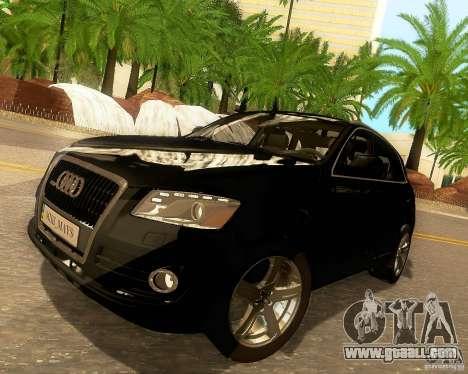 Audi Q5 for GTA San Andreas wheels