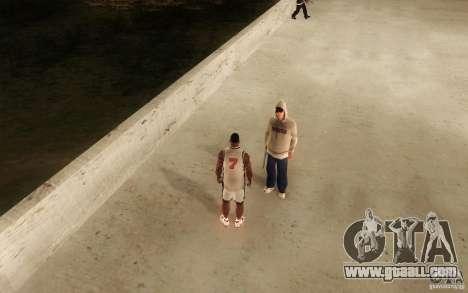 Sombras mais fortes em pedestres for GTA San Andreas fifth screenshot