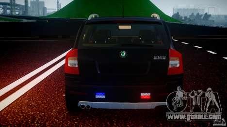 Skoda Octavia Scout Unmarked [ELS] for GTA 4 engine