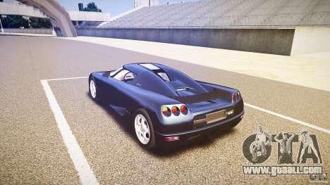 Koenigsegg CC8S 2002 for GTA 4 side view