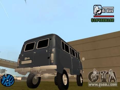 UAZ 2206 BPAN for GTA San Andreas left view