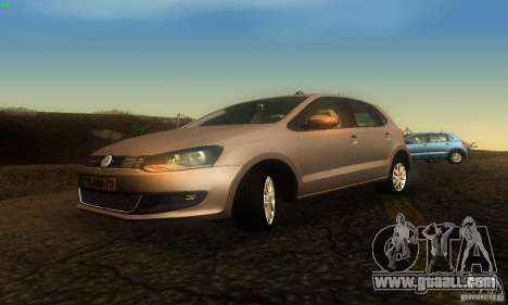 Volkswagen Polo 1.2 TSI for GTA San Andreas right view