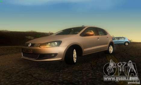 Volkswagen Polo 1.2 TSI for GTA San Andreas right view