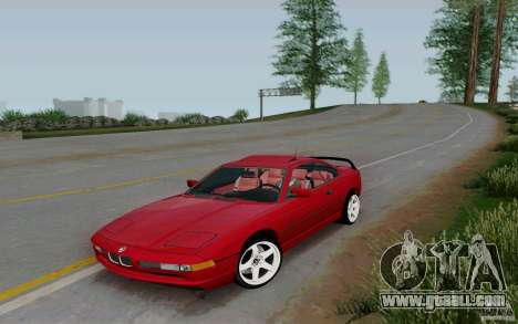 BMW 850i v2.0 Final for GTA San Andreas