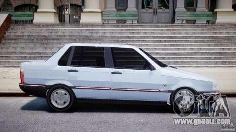 Fiat Duna 1.6 SCL [Beta] for GTA 4 inner view