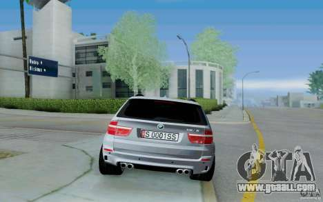 BMW X5M E70 for GTA San Andreas right view