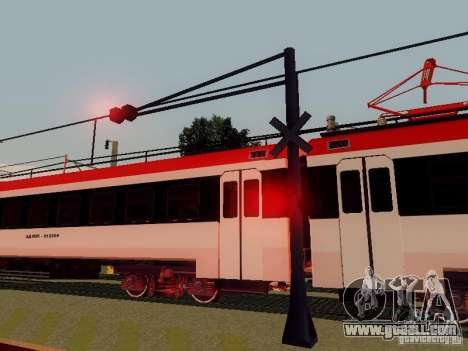 RAILWAY crossing RUS V 2.0 for GTA San Andreas fifth screenshot