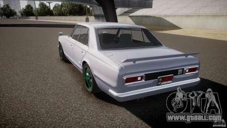 Nissan Skyline GC10 2000 GT v1.1 for GTA 4 side view