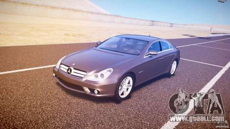 Mercedes-Benz CLS 63 for GTA 4 left view